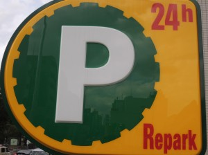 駐車場無料サービス